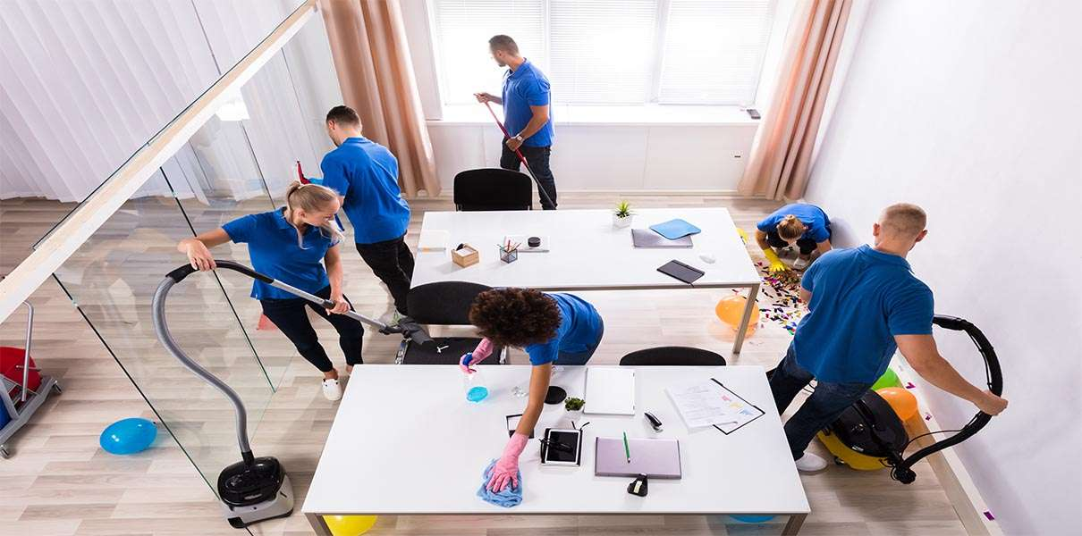 Metrokleen's team of professional Cleaners for Boston businesses