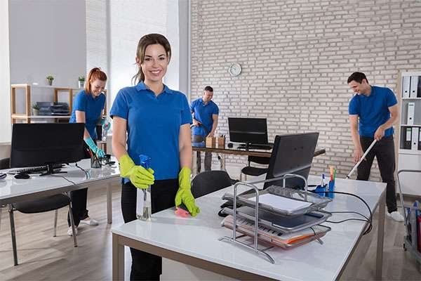Professional Office Cleaning in the Boston area by Metrokleen