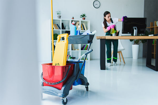 Boston area office cleaning services by Metrokleen