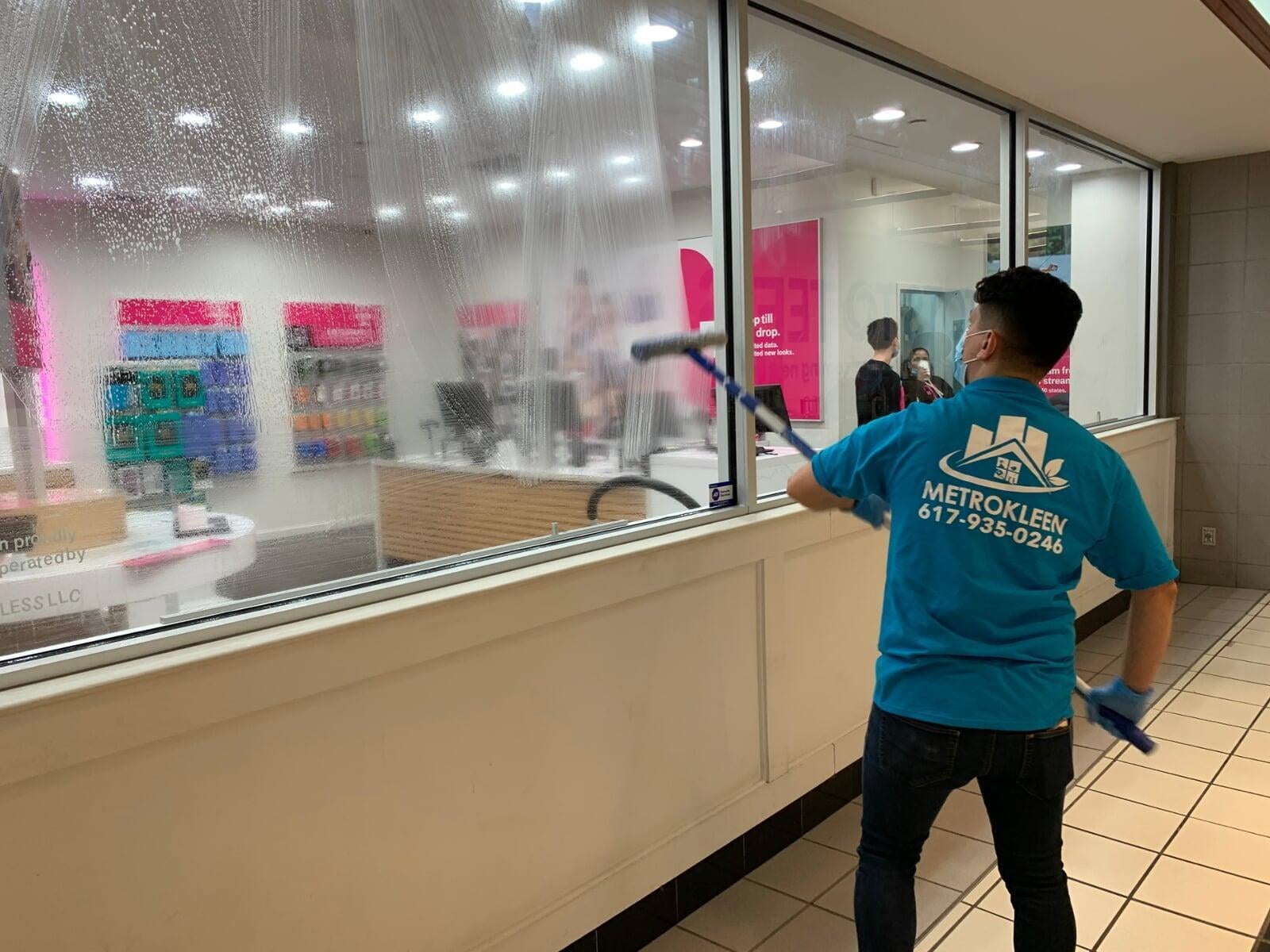 T-Mobile Window Cleaning