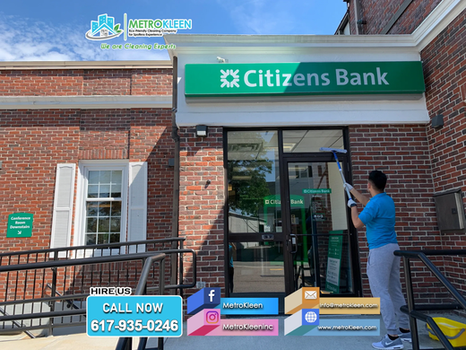 Bank Cleaning Services by Metrokleen - Peabody, MA