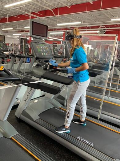 GYM Deep Cleaning Services